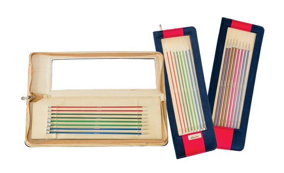 Knitpro - Zing Set of Eight Pairs of Knitting Needles in Case
