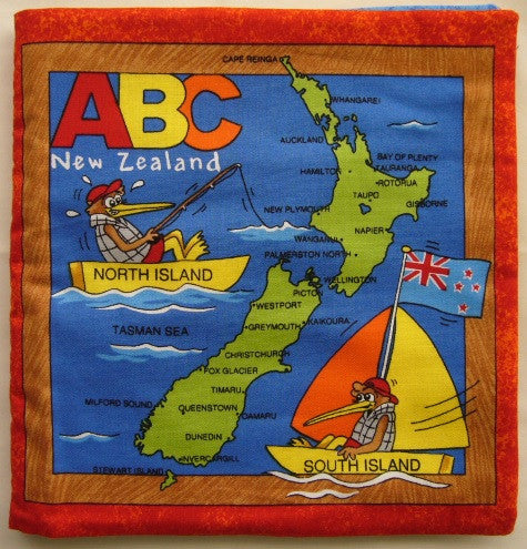 New Zealand A-B-C Panel Book (90 x 105 cm)