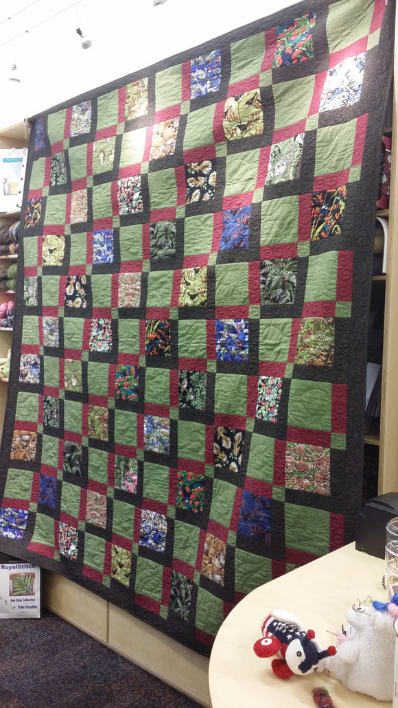 Quilt Kit - The Birdwatcher