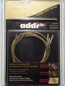 ADDI - 3 cables and 1 connector for Addi Click series - gold-coloured