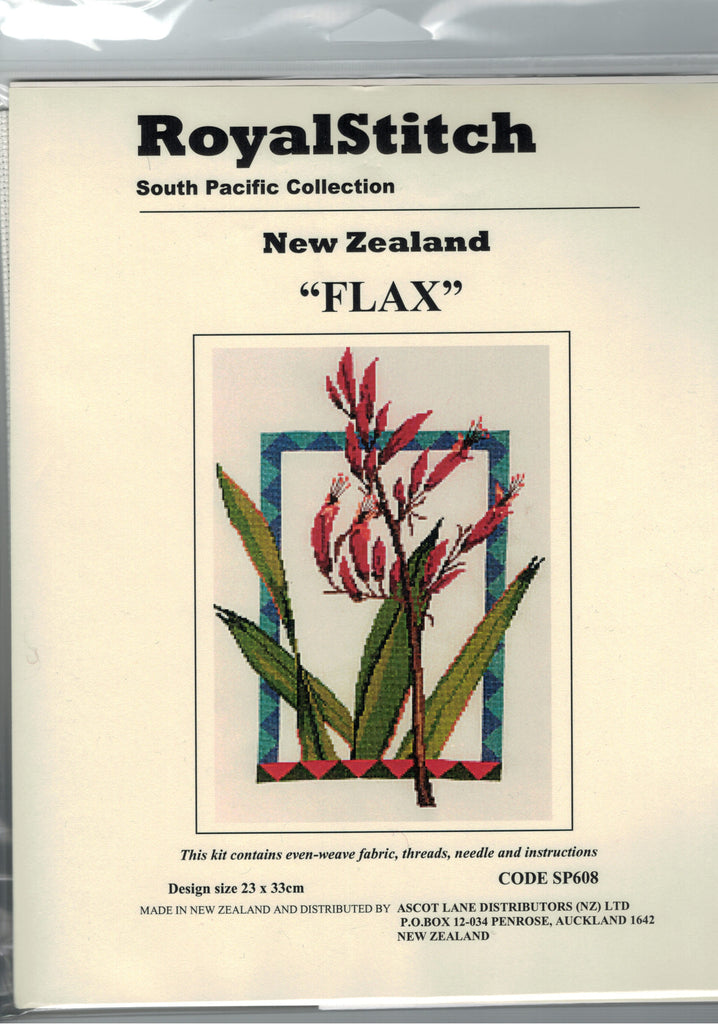 Cross-stitch kit - Royal Stitch Flax