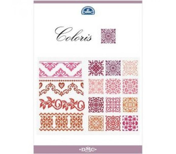 DMC Coloris Cross Stitch Book of Friezes