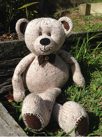 Knitting kit - Eddie the Teddy
