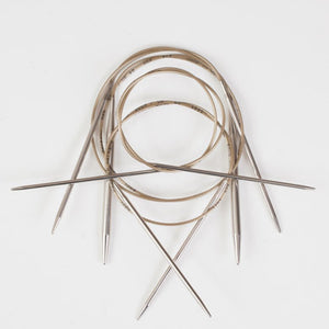 ADDI  - Fixed Circular Needles - 80 cm long