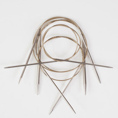 Addi Fixed Circular Needles - 80 cm long