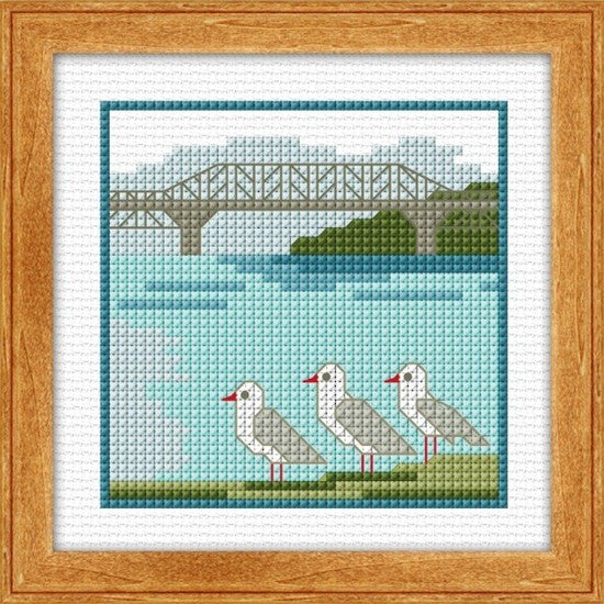 Cross-stitch kit - Harbour Bridge