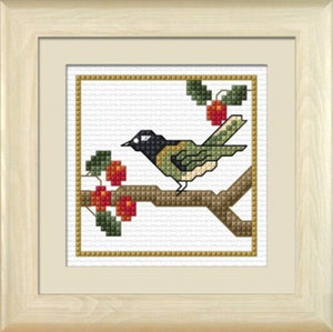 Cross-stitch kit - Hihi, the Stitchbird