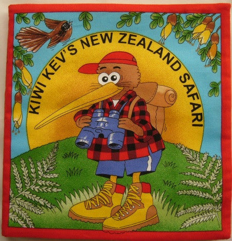 Kiwi Kevin - Panel Book (90 x 105 cm)
