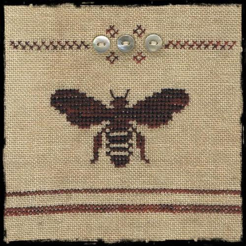 Cross-stitch kit - Bee pin cushion