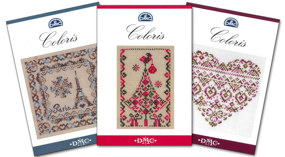DMC Coloris Thread Sets - includes 8 skeins and free pattern