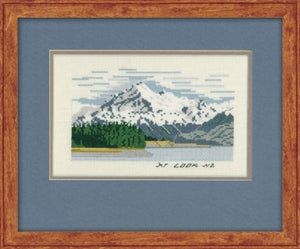 Cross-stitch kit - Mt Cook, NZ
