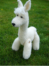 Knitting kit - Pepito the Alpaca