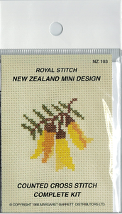 Cross-stitch kit - Kowhai