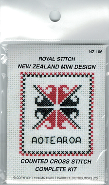 Cross-stitch kit - Maori Motif