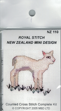 Cross-stitch kit - Lamb