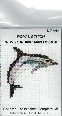 Cross-stitch kit - Dolphin