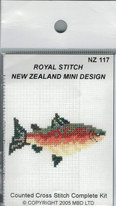 Cross-stitch kit - Rainbow Trout