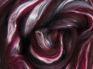 Silk Merino Scarf Felting Kit - Storm