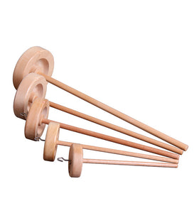 Ashford Top Whorl Spindles - Lacquered