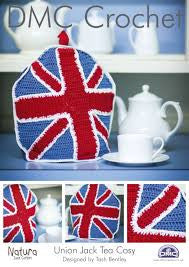 DMC Crochet Pattern - Union Jack Tea Cozy