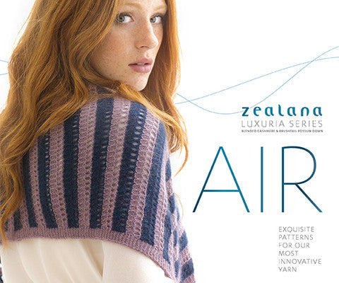Zealana Air Lace - 8 more patterns in Zealana Air Lace Yarn