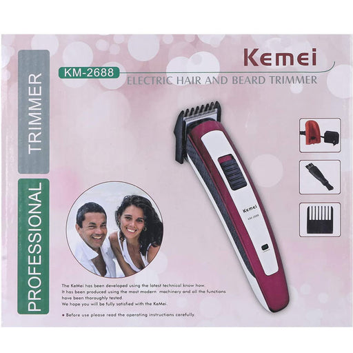 Kemei KM-2688 professional rechargeable hair clipper