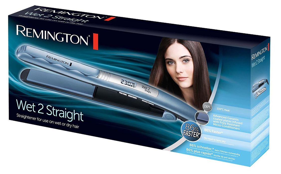 Remington Wet 2 Straight Ceramic Straightener S7300 (C)