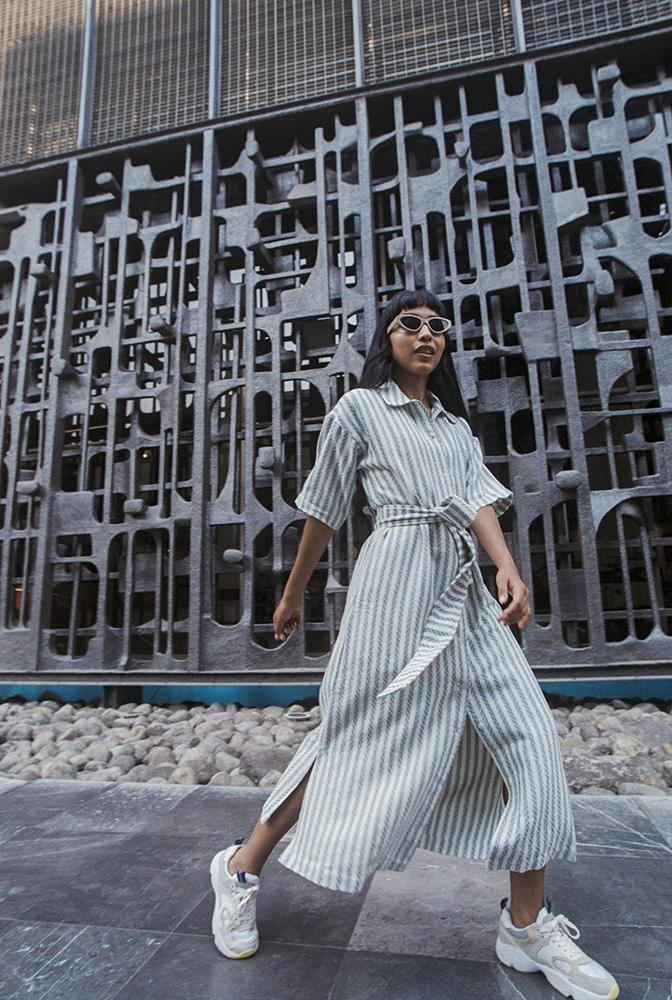 The Zina Maxi Shirt-Dress