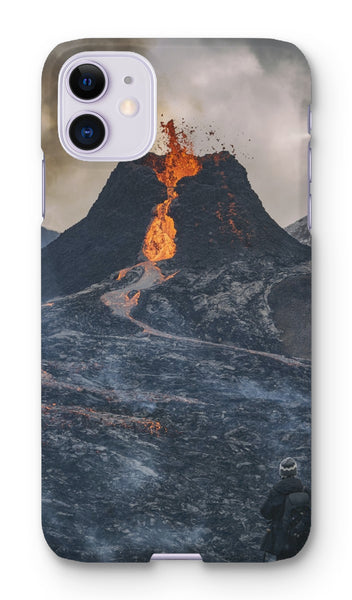 Fagradalsfjall, iceland Phone Case