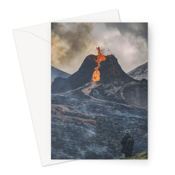 Fagradalsfjall, iceland Greeting Card