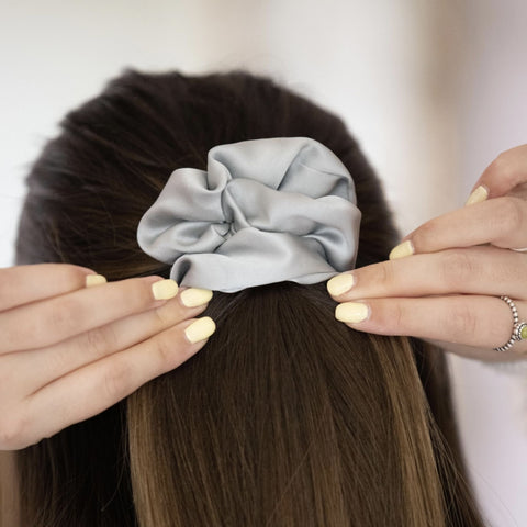 Pure Mulberry Silk Scrunchie- Great For Your Hair!