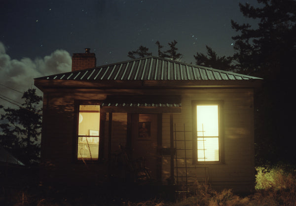 "huge photo: untitled (house face) - 49"" x 34"""