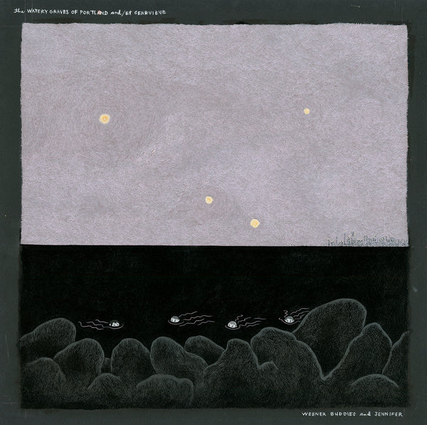 Watery Graves of Portland & Geneviève (CD)