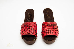 Load image into Gallery viewer, BRANDY WOVEN CLOGS
