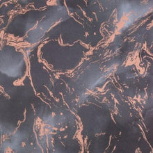 Load image into Gallery viewer, Rose Gold - Black Marble