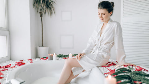 Luxurious Bath at Home for Self Care
