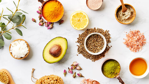 organic ingredients in beauty products