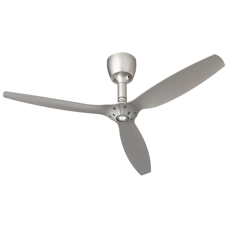 Oxygen Lighting 3-105-24 Alpha 60 Inch Ceiling Fan With LED Light - Satin Nickel