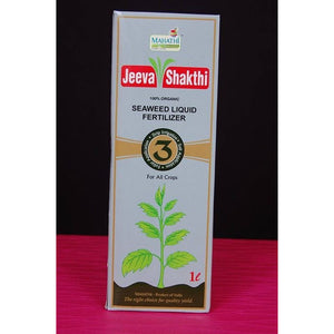 JeevaSakthi - Sea weed Tonic - 100% Organic - 40% yield improvement - SK Organic Farms