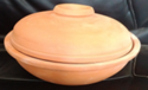 COOKING BOWL (SMALL) -WITH LID - SK Organic Farms