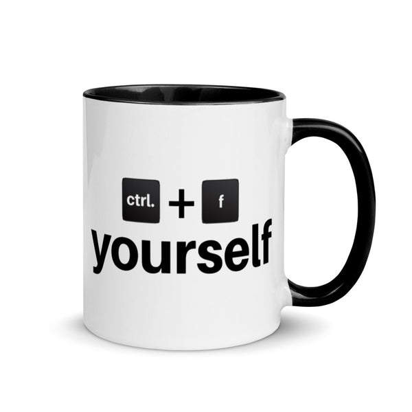 Ctrl. F Yourself Mug