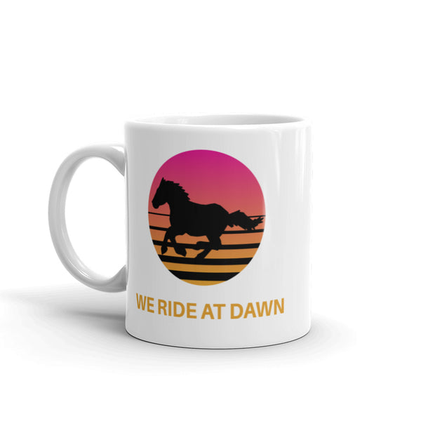 Retro Summer Sunset Ride Mug