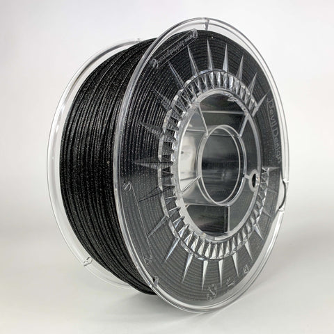 PLA GALAXY BLACK 1 kg Devil Design Filament 1,75 mm