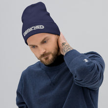 Load image into Gallery viewer, Cousteau Throw Back Beanie Blue |  Expedition Drenched