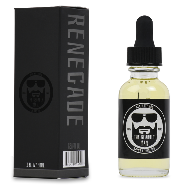 Renegade 1oz Beard Oil by The Beardly Man