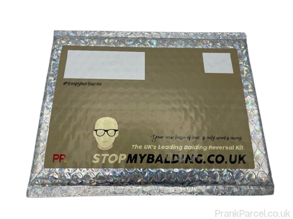 Stop my Balding-Letterbox Gifts-PrankParcel