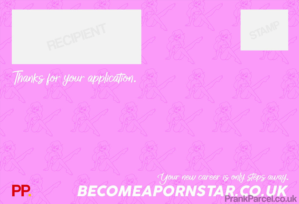Become a Porn Star-Letterbox Gifts-PrankParcel