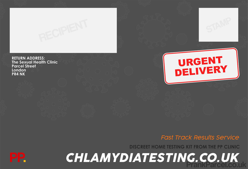Chlamydia Test Kit-Letterbox Gifts-PrankParcel
