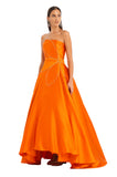 ORANGE FLOWER GOWN