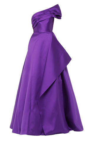 Purple Royal Gown